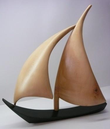 Sculpture, bois, œuvre d'art par Fabien Bochard