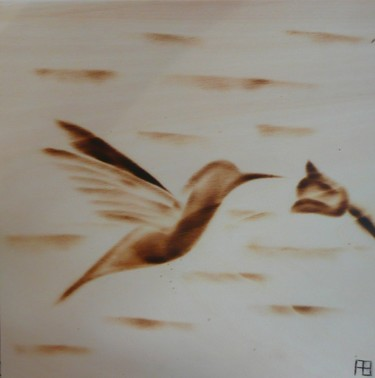 colibri en vol